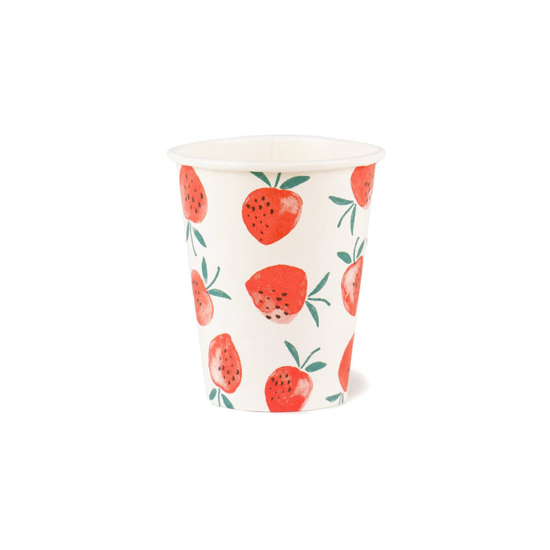 Sweet Strawberry Paper Cups Talking Tables - Hello Party
