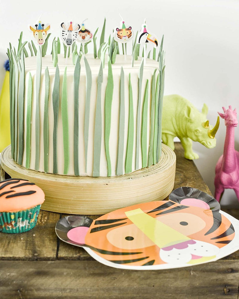 Party Animals Shaped Cake Candles. Party Candles Talking Tables - Hello Party