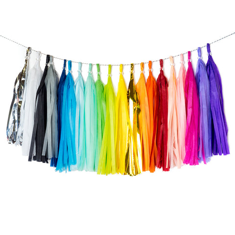 Create your own tassel garland  create Hello Party Essentials - Hello Party