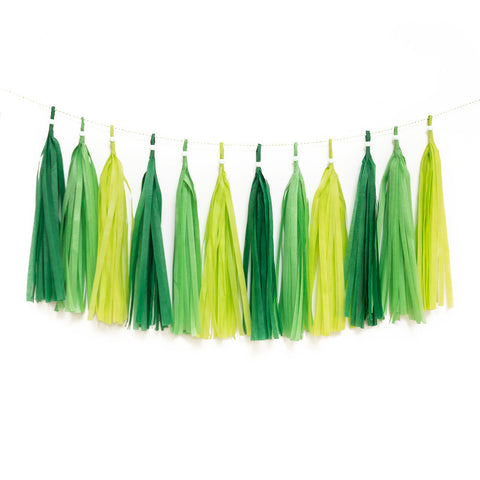 Gogeous Greens Tassel Garland