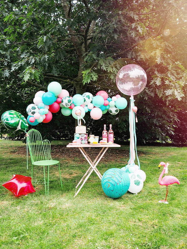 Totally Tropical Balloon Cloud Garland Party Kit