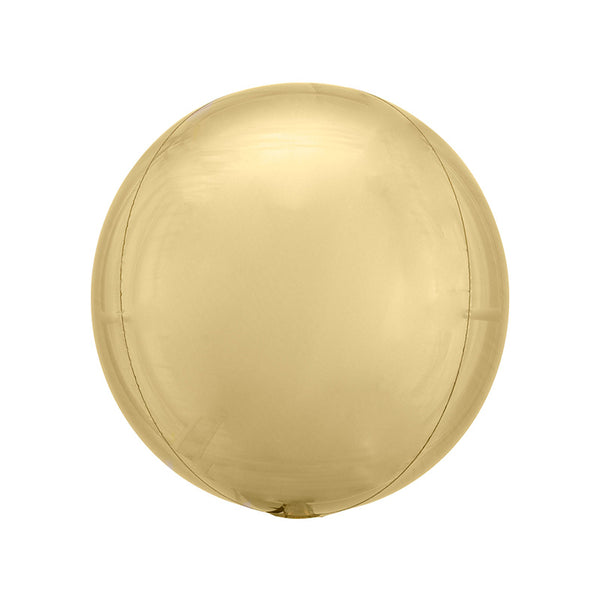 "Light Gold Orbz Balloon (16"")"