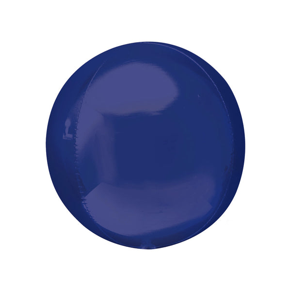 Dark Blue Orbz Balloon | Globe Shaped Balloon | Modern Stylish Party