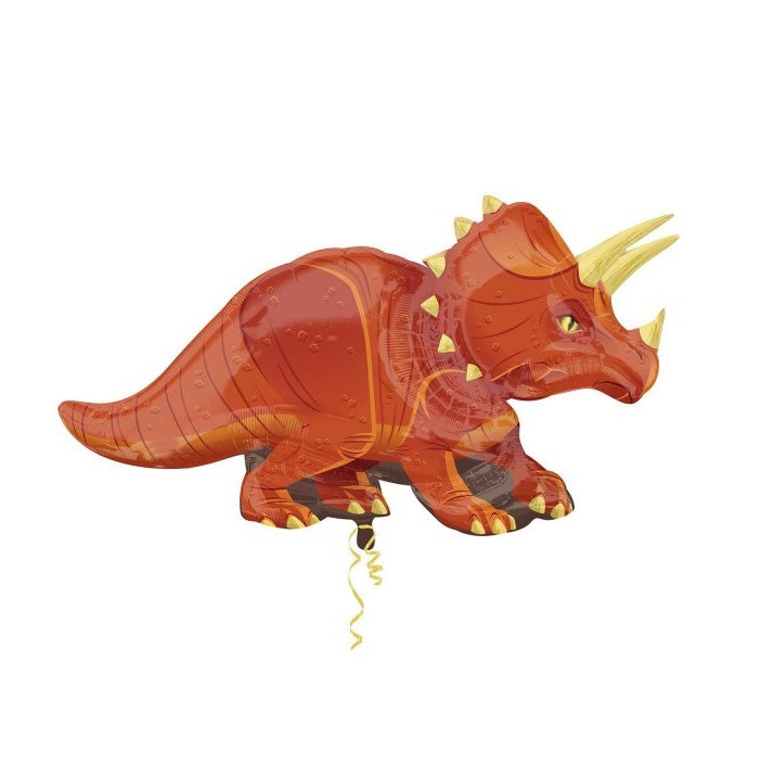 "Triceratops Dinosaur Foil Balloon (42"")  Balloons Anagram - Hello Party"