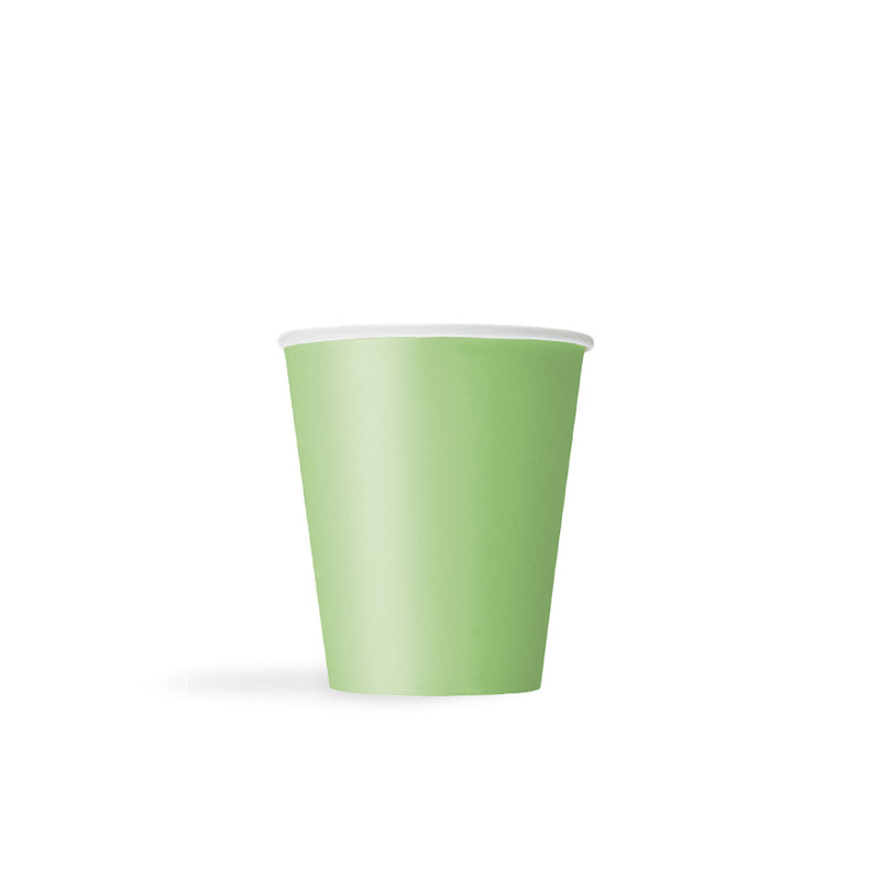 Lime Green Paper Cups  Party Cups Hello Party - All you need to make your party perfect!  - Hello Party