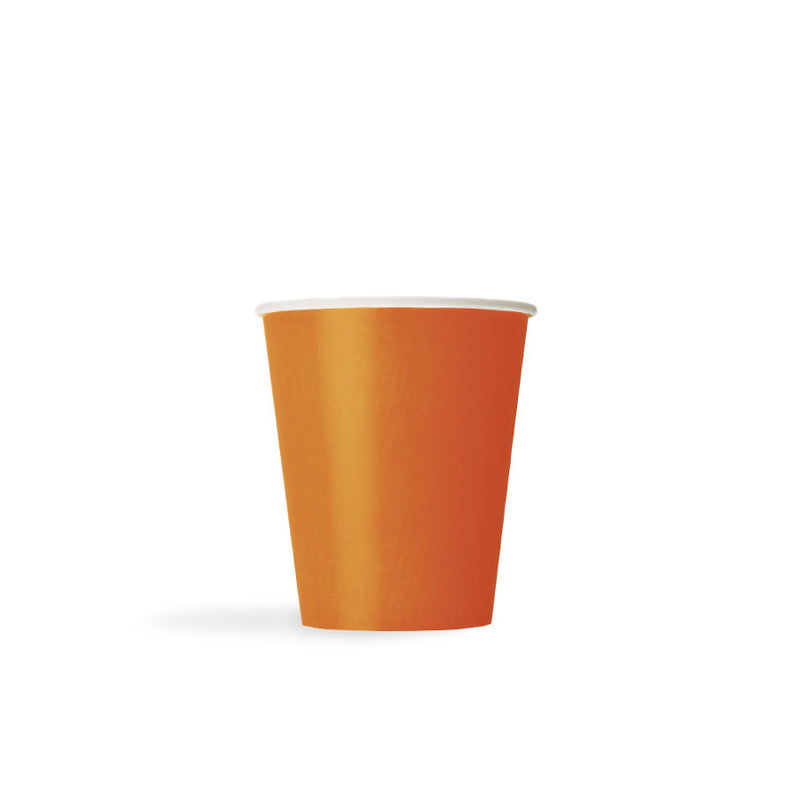 Pumpkin Orange Paper Cups  Party Cups Hello Party - All you need to make your party perfect!  - Hello Party