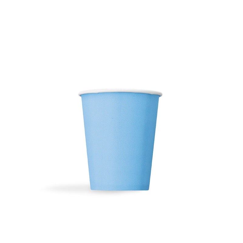 Pastel Blue Paper Cups  Party Cups Hello Party - All you need to make your party perfect!  - Hello Party