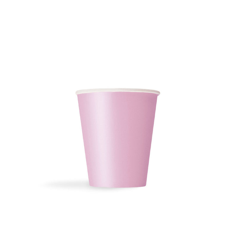 Pastel Pink Paper Cups  Party Cups Hello Party - All you need to make your party perfect!  - Hello Party