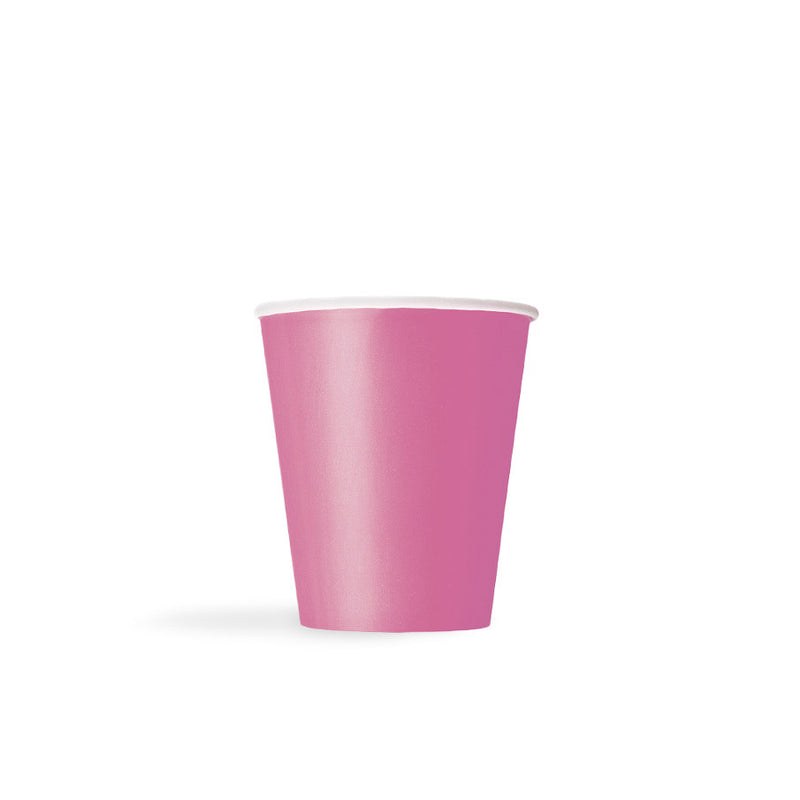 Hot Pink Paper Cups  Party Cups Hello Party - All you need to make your party perfect!  - Hello Party