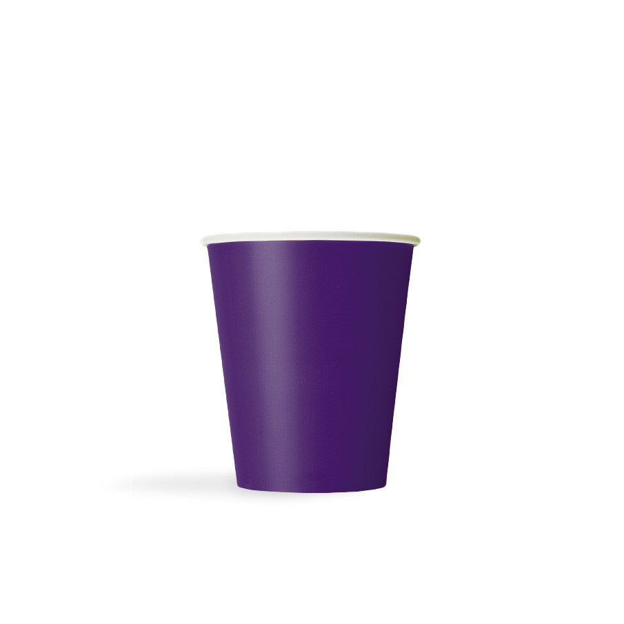 Deep Purple Paper Cups  Party Cups Hello Party - All you need to make your party perfect!  - Hello Party