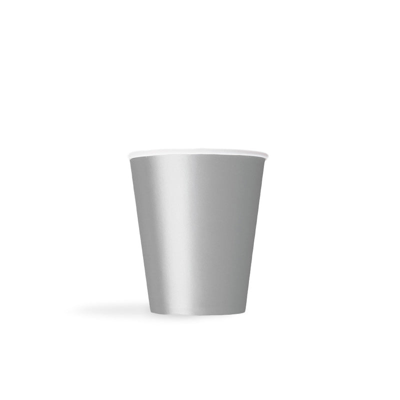 Silver Paper Cups  Party Cups Hello Party - All you need to make your party perfect!  - Hello Party