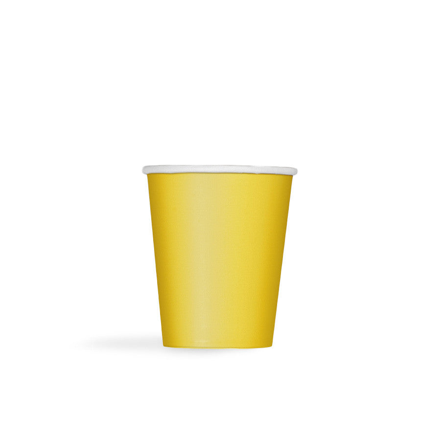 Sunflower Yellow Paper Cups