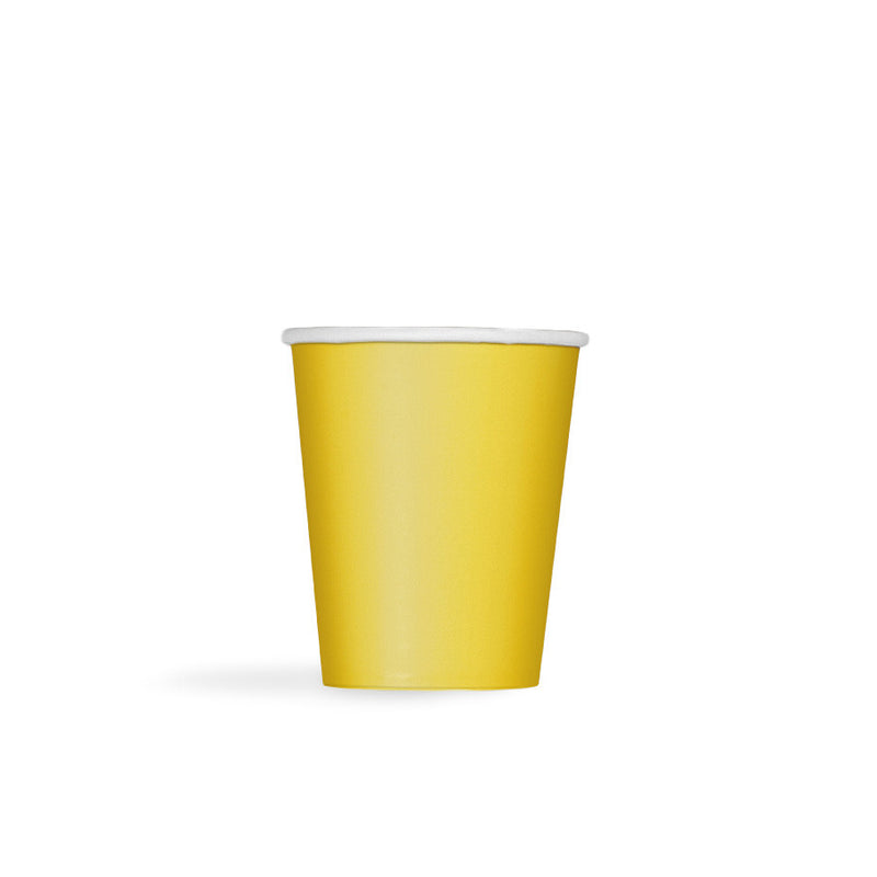 Sunflower Yellow Paper Cups  Party Cups Hello Party - All you need to make your party perfect!  - Hello Party