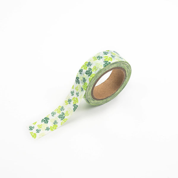 Green Leaves Washi Tape