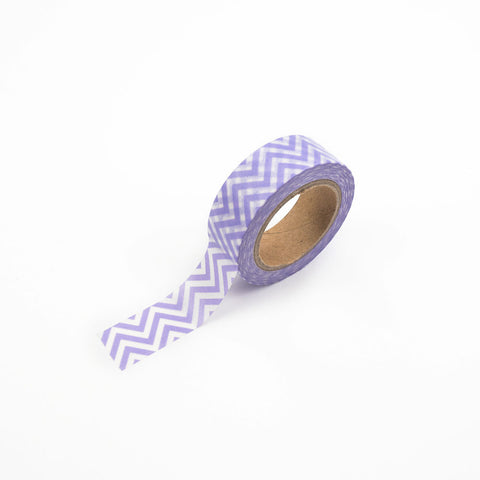 Purple Chevron Washi Tape
