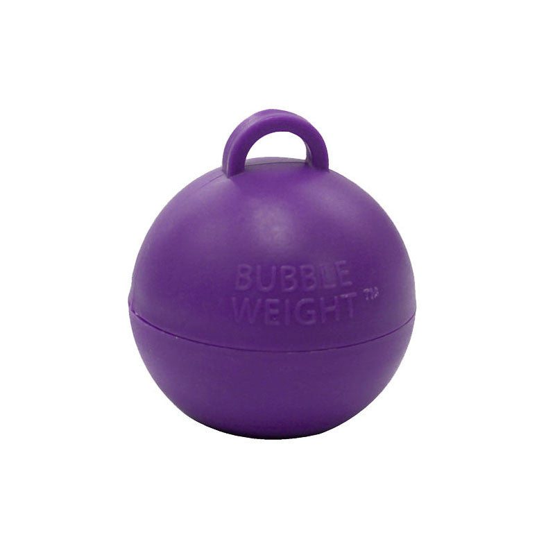 35g Purple Bubble Weight  Balloon Weight Hello Party Essentials - Hello Party