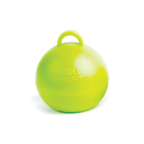 35g Lime Green Bubble Weight