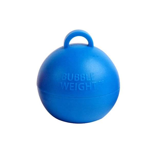 35g Bright Blue Bubble Weight  Balloon Weight Hello Party Essentials - Hello Party