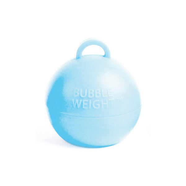 35g Baby Blue Bubble Weight  Balloon Weight Hello Party Essentials - Hello Party