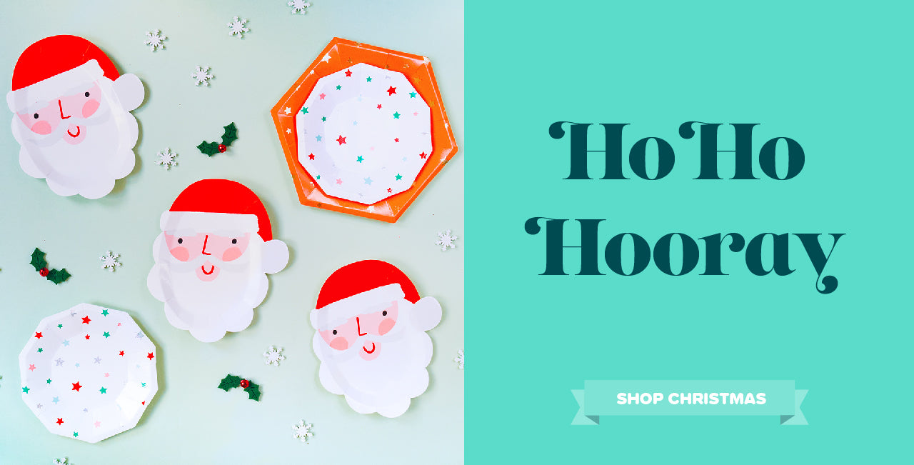 Pretty Stylish Christmas Party Supplies Decorations and Tableware