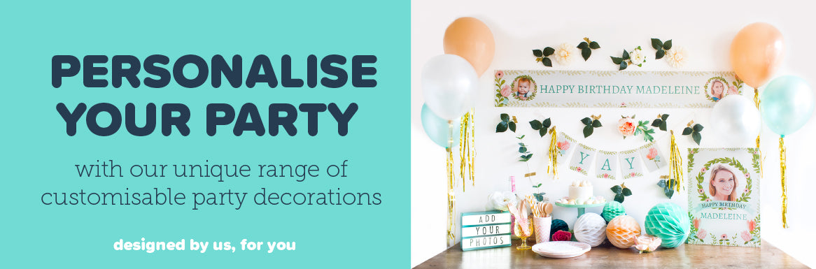 Hello Party Personalise your Party