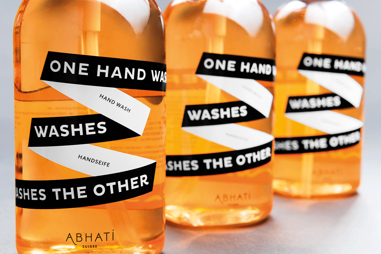 "Handseife ""One Hand Washes The Other"""