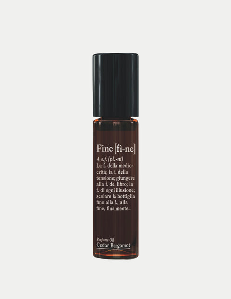 Cedar & Bergamot Perfume Oil Roll-On