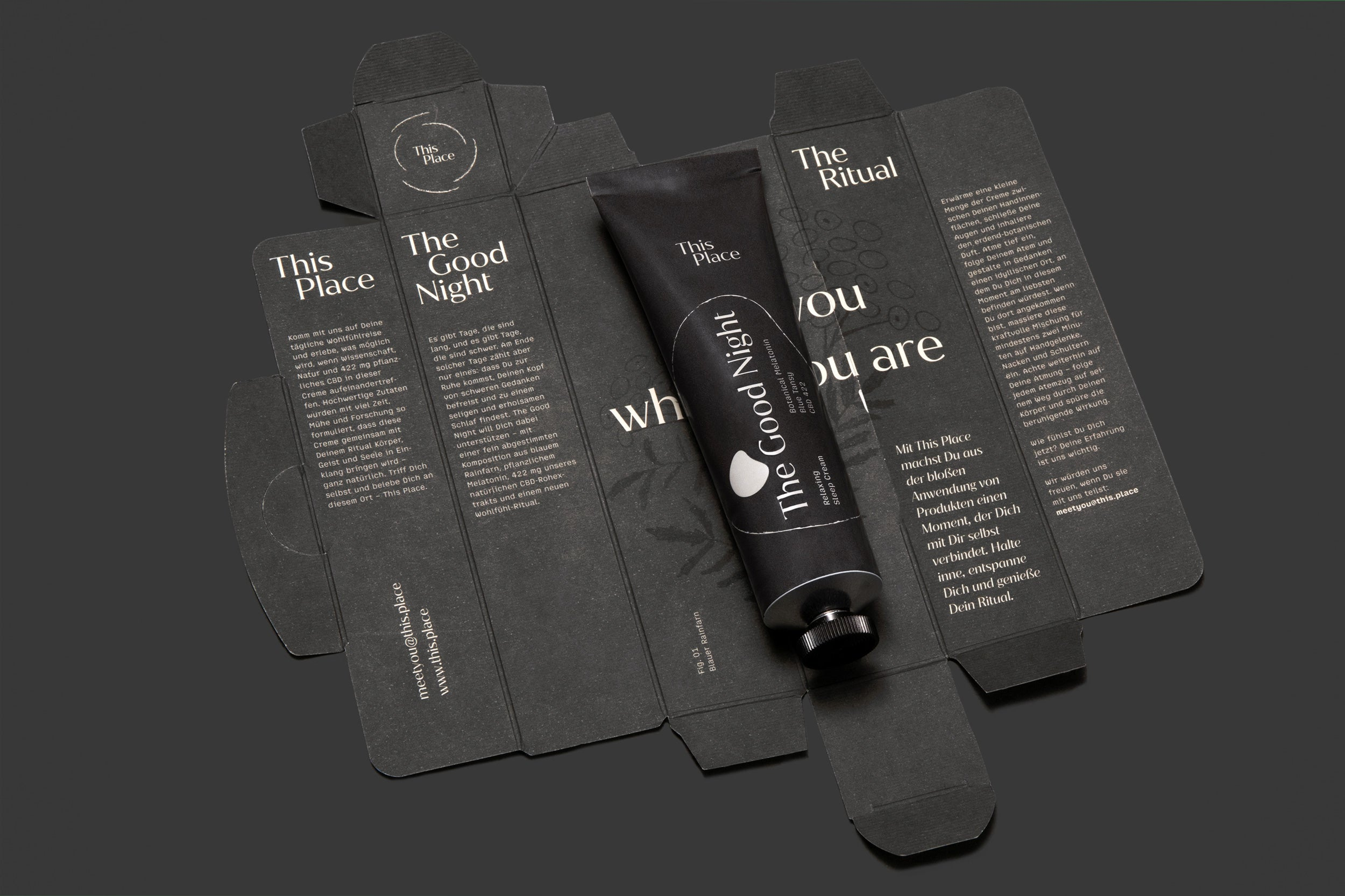 The Good Night | Entspannende Schlafcreme mit CBD