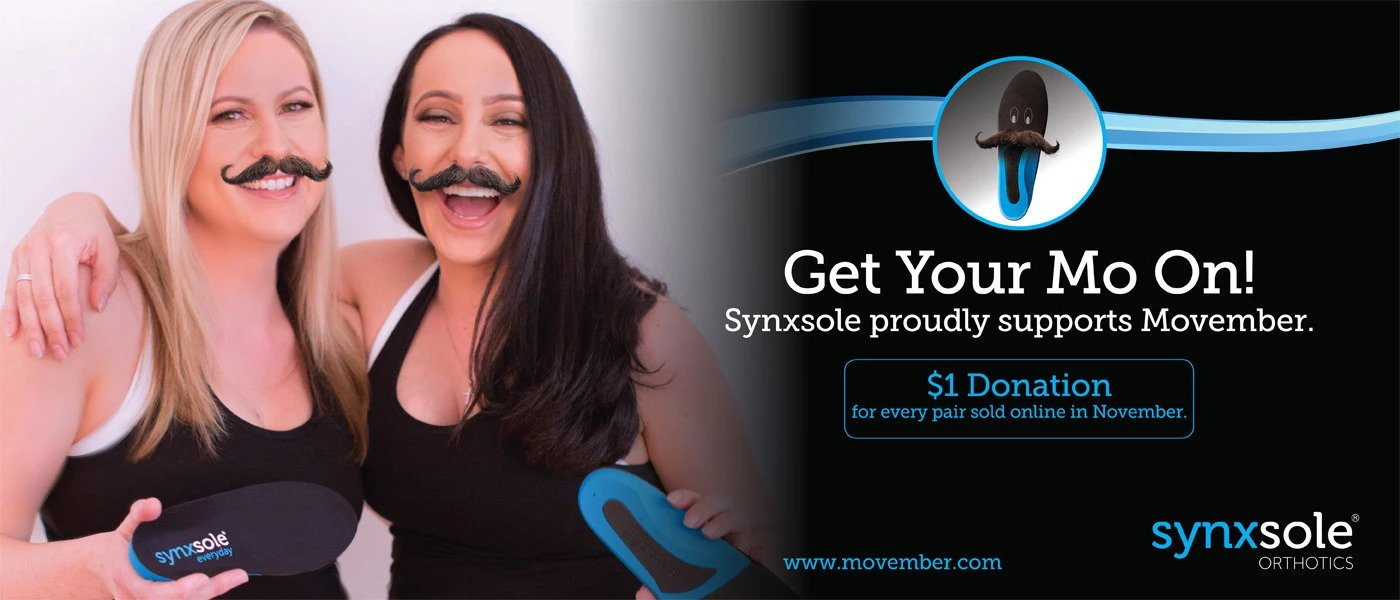 Synxsole are Proud to Support Movember