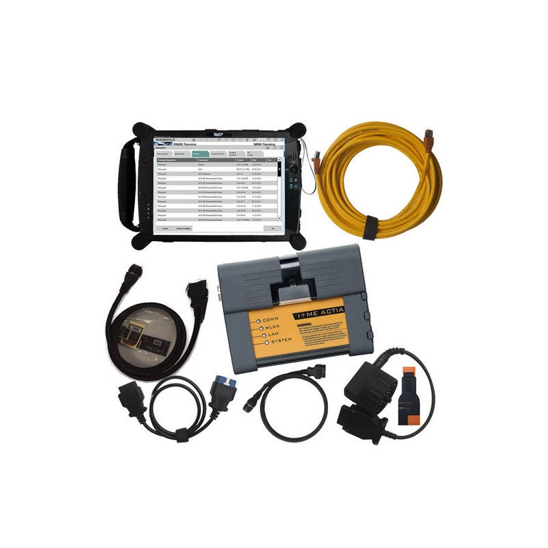 BMW TOUCHSCREEN DIAGNOSTICS SYSTEM ICOM A2+B+C 2019 edition