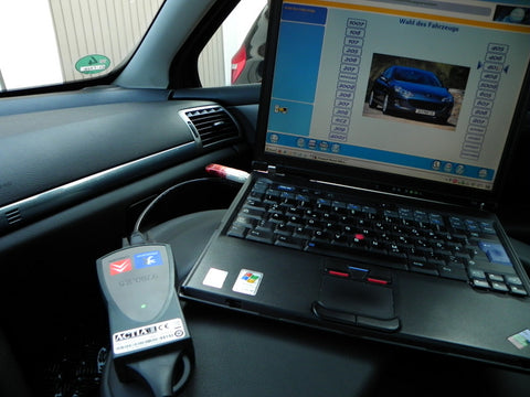 Citroen Peugeot DEALER LEVEL DIAGNOSTICS SYSTEM