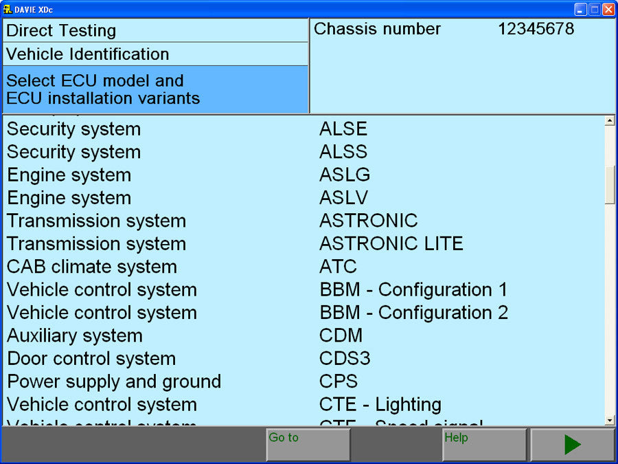 Diagnostics System Compatible With DAF MUX-560 Genuine Laptop Edition
