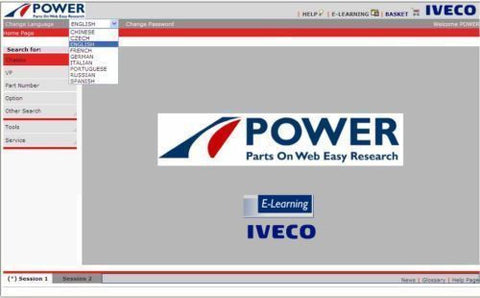 IVECO POWER EPC 2017
