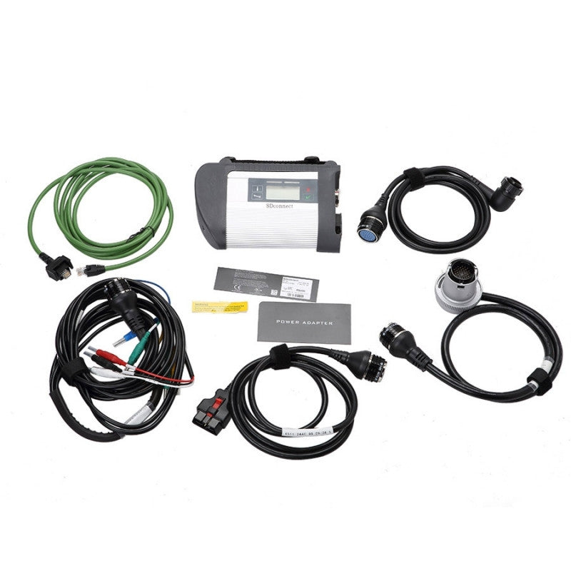 SD CONNECT C5 C4 Xentry Star Diagnostic system mercedes Dell D630
