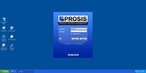 VOLVO PROSIS 2017 WORKSHOP MANUALS & PARTS CATALOG