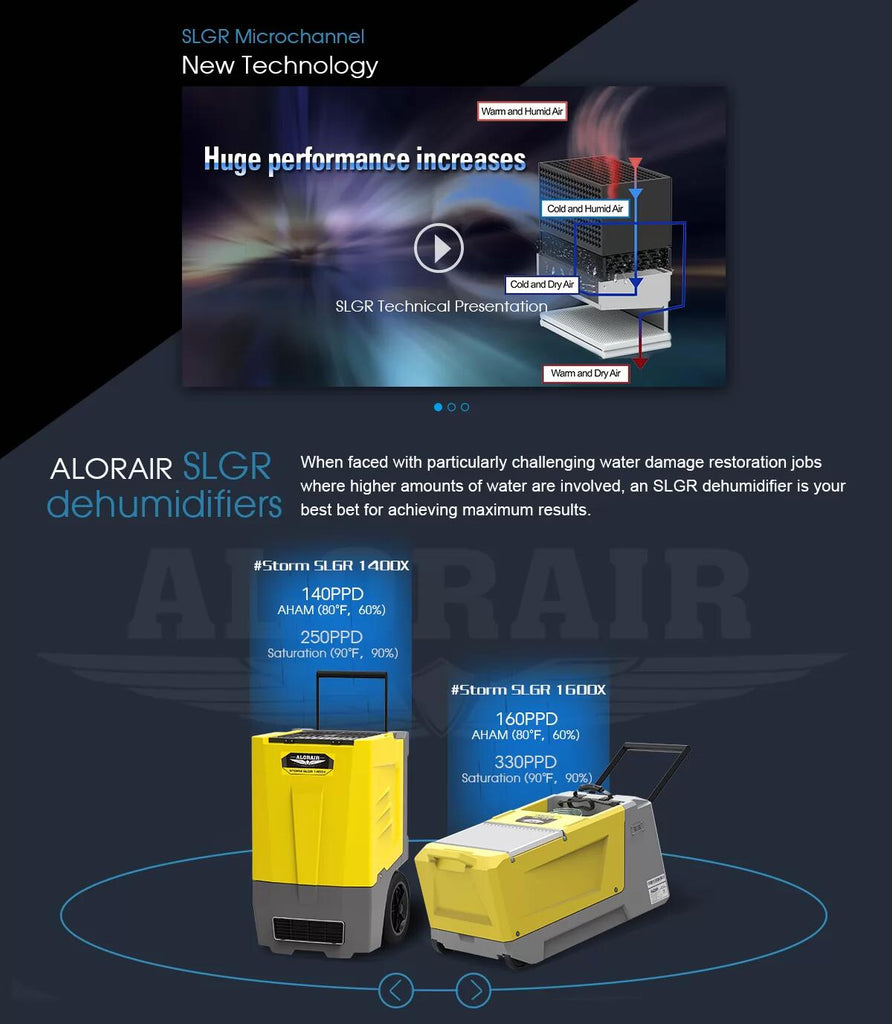How to Choose a Restoration dehumidifier? – AlorAir Solutions
