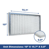 AlorAir 2-Pack MERV-10 Filter for Commercial Dehumidifier Storm SLGR 1600X