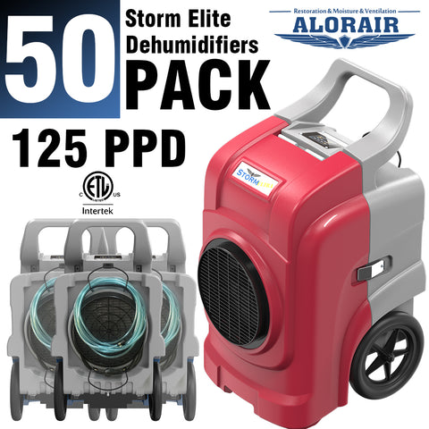 ALORAIR® Storm elite 125 Pint commercial restoration dehumidifiers (Pack of 50) wholesale package of restoration equipment