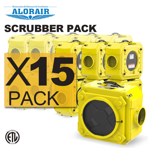 Air scrubber wholesale package (Pack of 15)