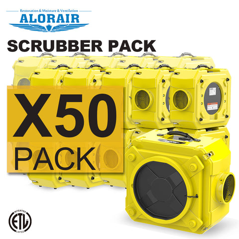 Air scrubber wholesale package (Pack of 50)