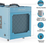 ALORAIR Uni-P Dry Pro 120X Portable Commercial Dehumidifier 120 Pints Large Industrial Dehumidifier with Pump, for Clean-Up, Flood, Moisture, Home, Garages, and Job Sites