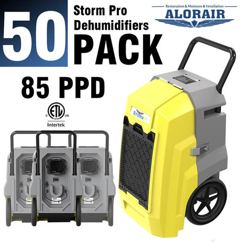 ALORAIR® Storm PRO 85 Pint commercial restoration dehumidifIers (Pack of 50) wholesale package of restoration equipment