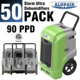 ALORAIR® Storm Ultra 90 PPD commercial restoration dehumidifiers (Pack of 50) wholesale package of restoration equipment