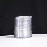 Aluminum foil outlet duct with a diameter of 5.9 inches and 11.4 feet long for HD90/HDi90