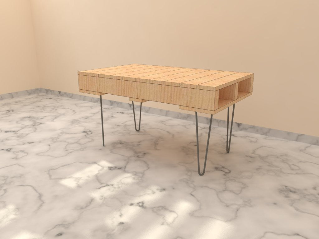 Coffee Table; Hairpin Legs Coffee Table; Pallet Coffee Table