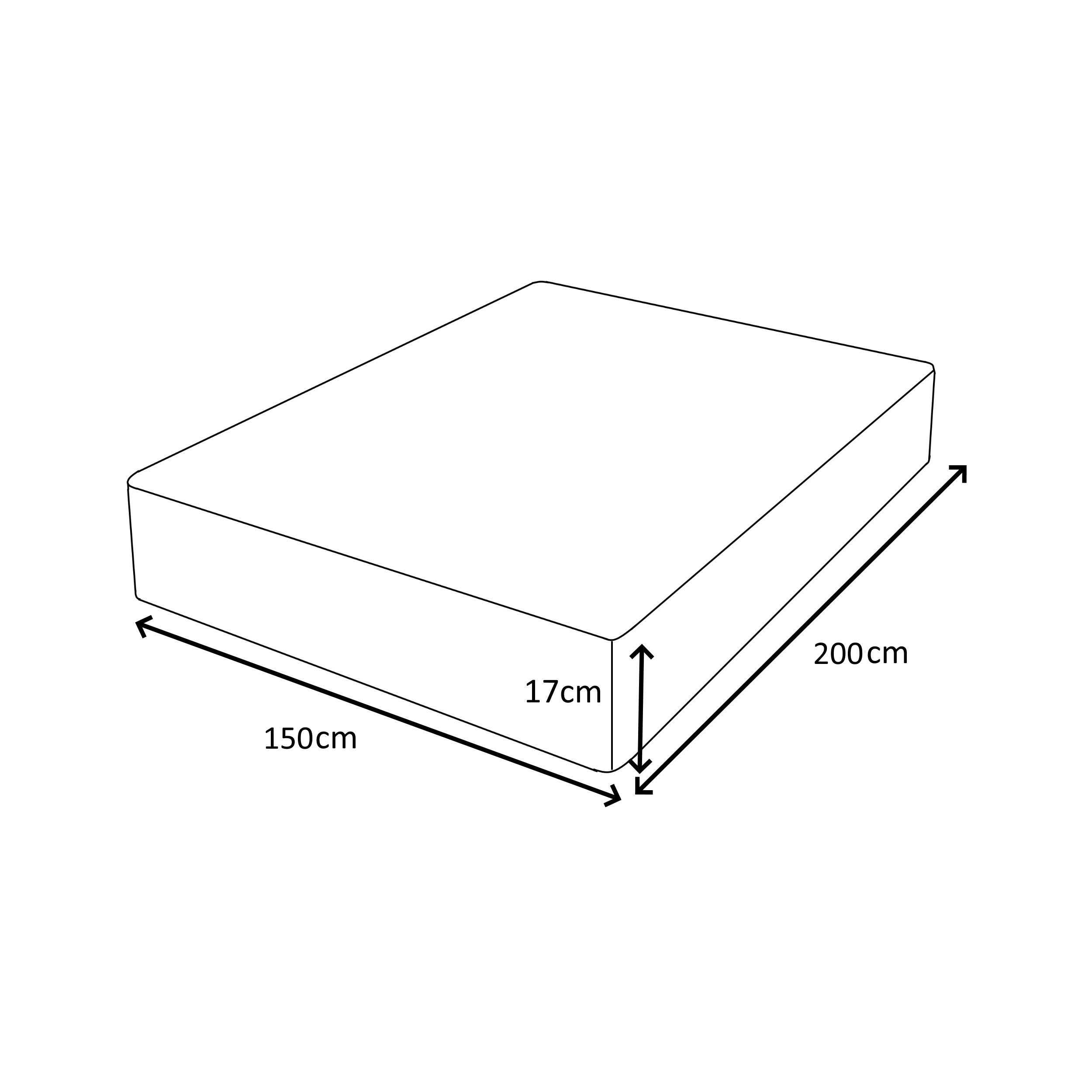 5FT Kingsize Mattresses