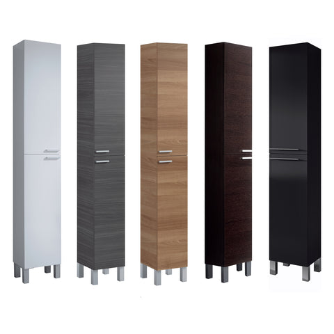 Baltic space saving bathroom storage column