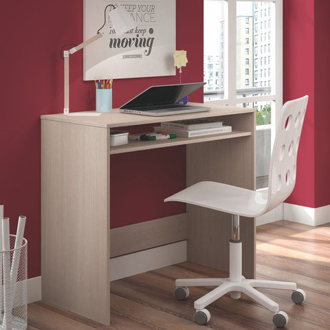 LIA Computer Desk in Light Oak - Online4furniture