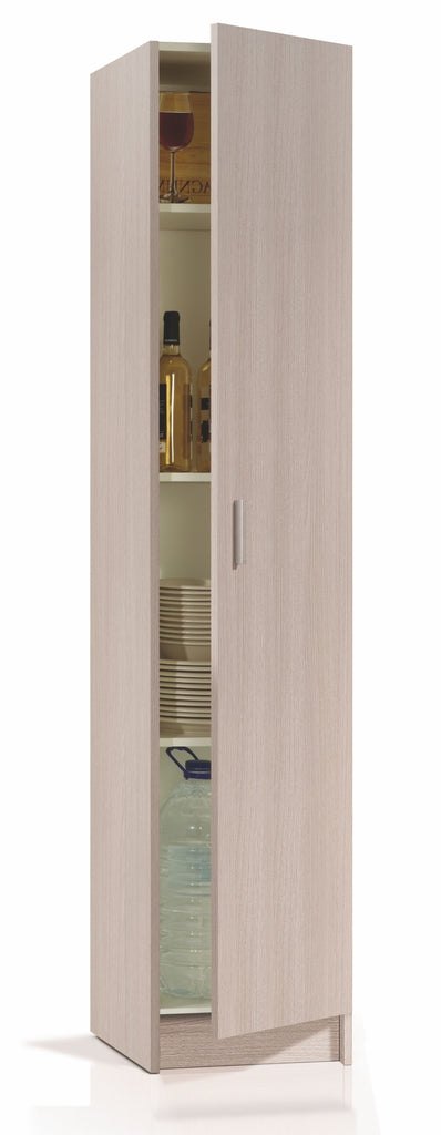 VITA Utility 1 Door Cupboard in Oak - Online4furniture