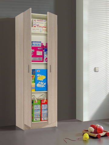 VITA Utility 2 Door Cupboard in Oak - Online4furniture